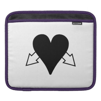 Heart and Arrows Sleeves For iPads