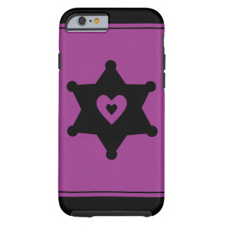 Heart and Badge - Sheriff Deputy iPhone 6 Case