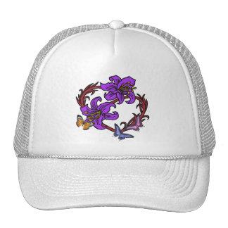 Heart and Butterfly Trucker Hat