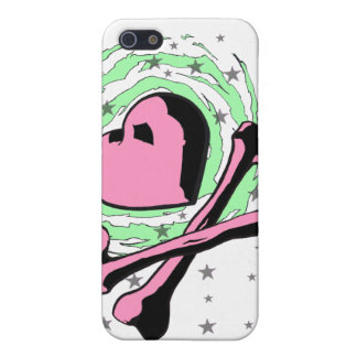 Heart and crossbones iPhone case iPhone 5 Cover