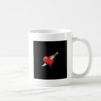 Heart and Dagger Coffee Mug