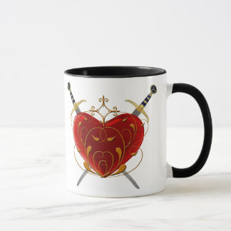 Heart And Daggers Mug
