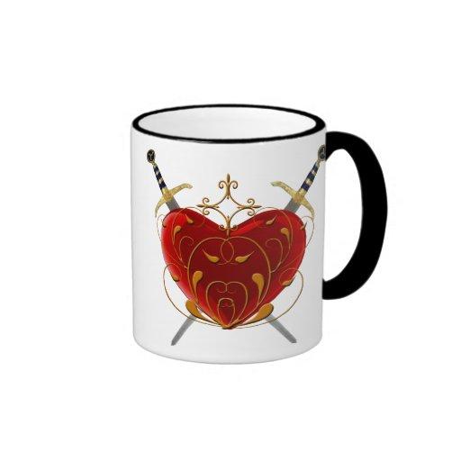Heart And Daggers Mug
