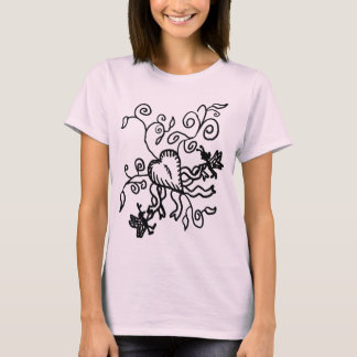 Heart and Faeries T-Shirt