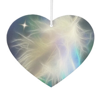 Heart and Feather Air Freshener