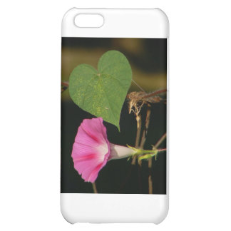 Heart and Flower iPhone 5C Cover