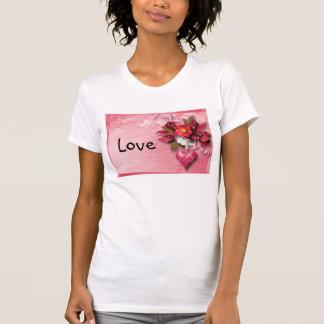 Heart and Flower Valentine Shirt