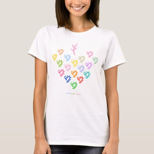 heart and flowers! T-Shirt