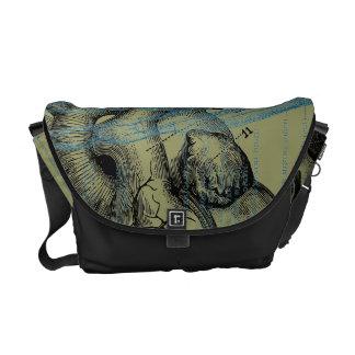 Heart and Hand - anatomy Messenger Bag