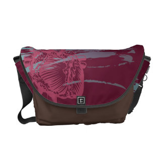 Heart and Head Courier Bag