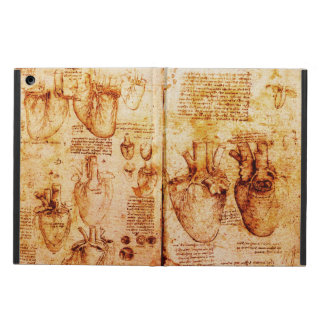 Heart And Its Blood Vessels Parchment Brown iPad Air Covers