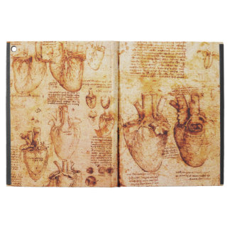Heart And Its Blood Vessels Parchment Brown iPad Pro Case