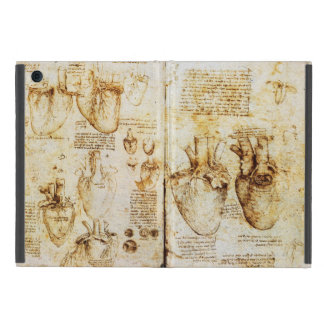Heart And Its Blood Vessels Parchment iPad Mini Case