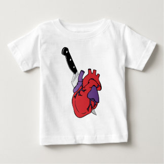heart and knife baby T-Shirt