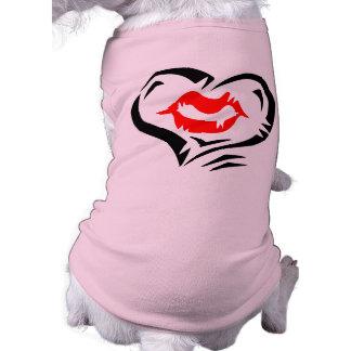 Heart and Lips Valentine Shirt