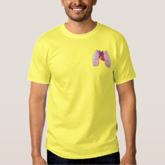Heart and Lung Embroidered T-Shirt