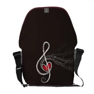 heart and melody courier bags
