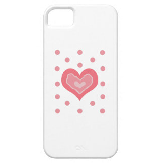 HEART AND POLKA DOTS iPhone 5 COVERS