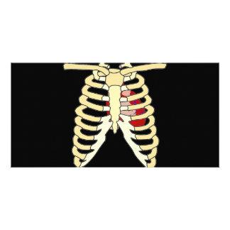 Heart and Ribs Photo Card