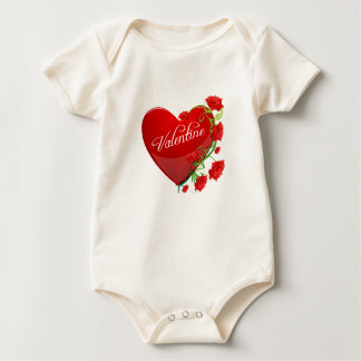 Heart and Roses Valentine Bodysuit