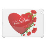 Heart and Roses Valentine iPad Mini Case