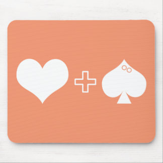 Heart And Sole (Fish) Puzzle Mousepad