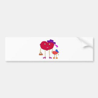 heart and son bumper sticker