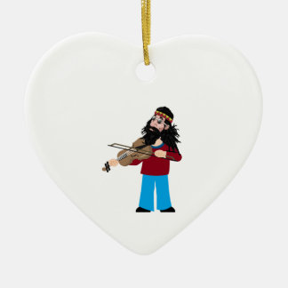 Heart and Soul Ceramic Ornament