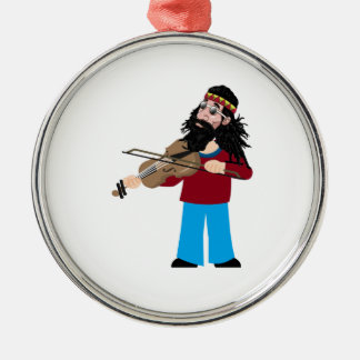 Heart and Soul Metal Ornament