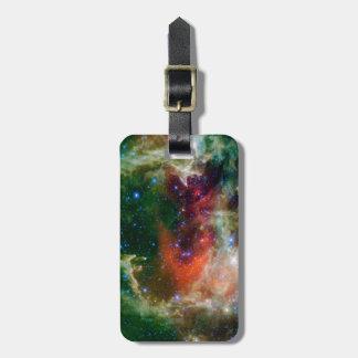 Heart And Soul Nebula Bag Tag