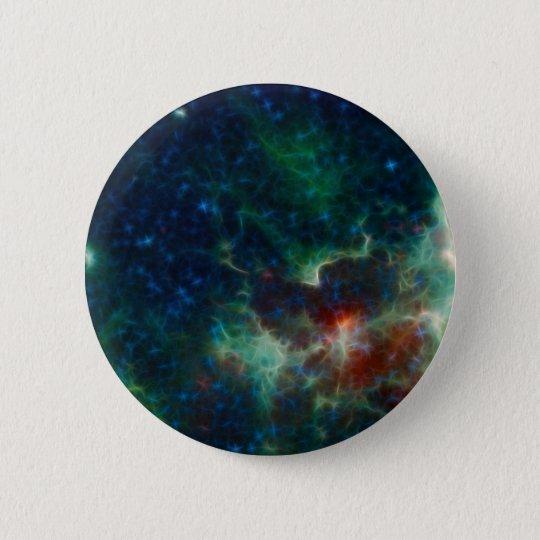 Heart and Soul Nebula NASA Pinback Button