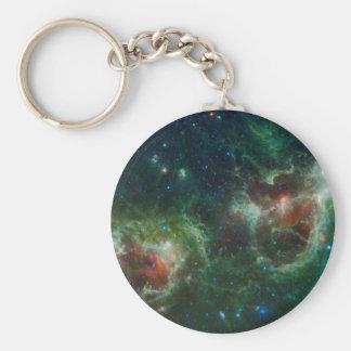 Heart and Soul Nebulae Keychain