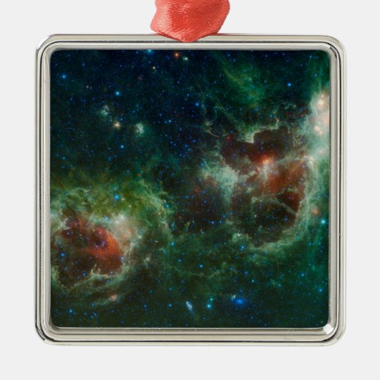 Heart and Soul Nebulae Metal Ornament