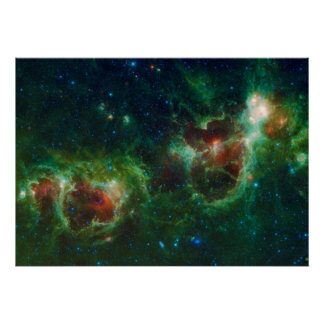 Heart and Soul Nebulae Poster