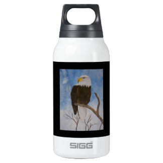 Heart And Soul Of The Eagle Thermos Water Bottle