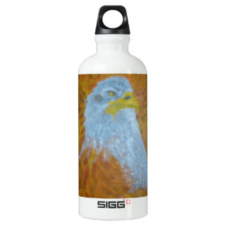 Heart And Soul Of The Eagle Water Bottle