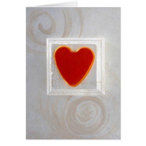 Heart and Spirals Card