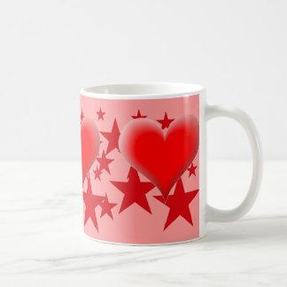 Heart and Star Mug -