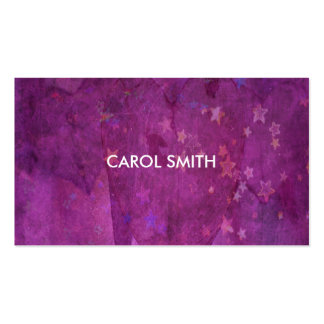 Heart and Stars - Business Card