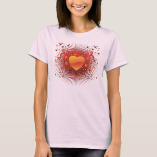 heart and stars T-Shirt