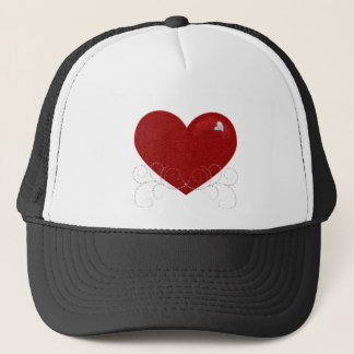 Heart and Swirls Cap