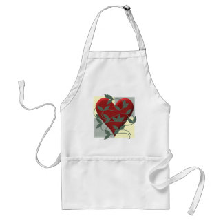 Heart and Vine Adult Apron