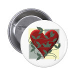 Heart and Vine Pin