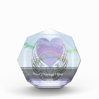 Heart, Angel Wings & Ocean Award