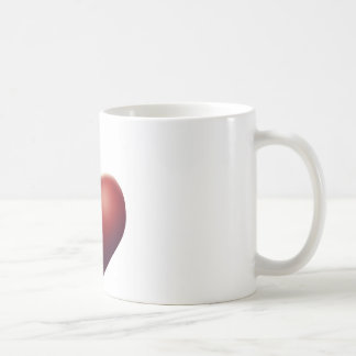 Heart Apple Coffee Mug