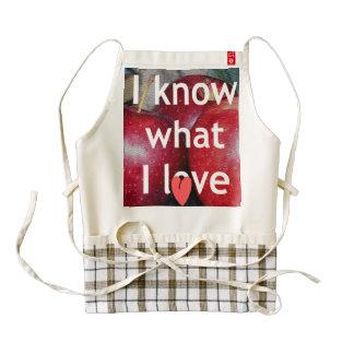 Heart apron I know I want Zazzle HEART Apron