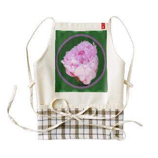 HEART Apron  Rose PinkRose Flower Floral