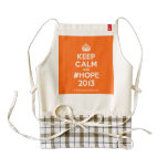 [Crown] keep calm and #hope 2013  HEART Aprons Zazzle HEART Apron
