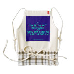 [Electric guitar] ya betta not keep calm just turn tha fuck up it's my birthday!  HEART Aprons Zazzle HEART Apron