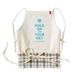 [Crown upside down] hold on to your hat  HEART Aprons Zazzle HEART Apron